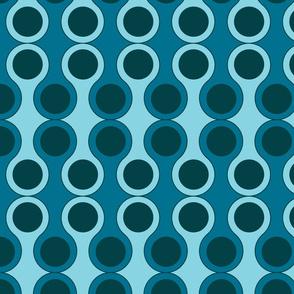 blue circle pattern