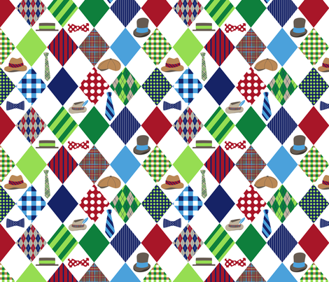 Not Your Average Joe fabric by bojudesigns on Spoonflower - custom fabric