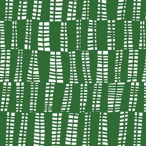 webs in green fabric by lola_designs on Spoonflower - custom fabric