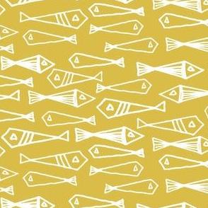 fish // mustard yellow fish sea yellow nautical fishes