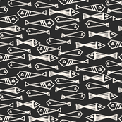 Fish - Charcoal