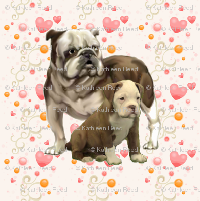 bulldog_mom_and_baby
