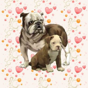 bulldog_mom_and_baby