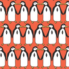 Penguin Dance - Coral
