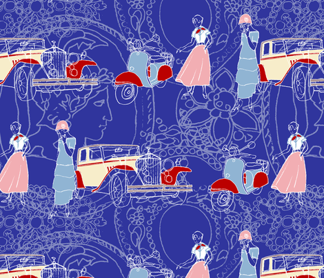 1948 fabric by koko_hunt on Spoonflower - custom fabric