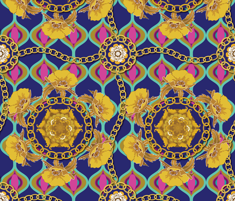 Homage to Versace  fabric by shellypenko on Spoonflower - custom fabric