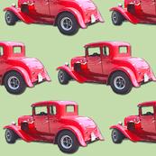 red vintage car3