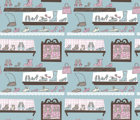Wardrobe fabric by aliceelettrica on Spoonflower - custom fabric