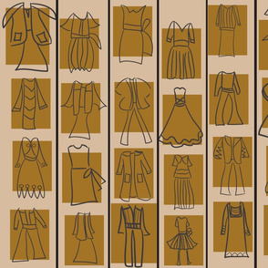 SOOBLOO_DRESSES_TAUPE_-01