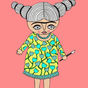 Frida (pink)