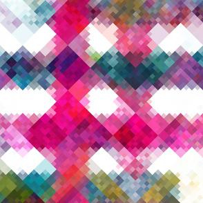 Pixelated pink