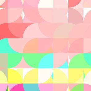 Pastel segments