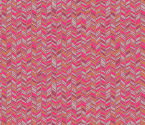 Pink Chevron fabric by kimsa on Spoonflower - custom fabric