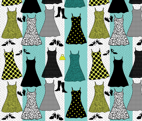 retro_fashion fabric by reginamartinedesign on Spoonflower - custom fabric