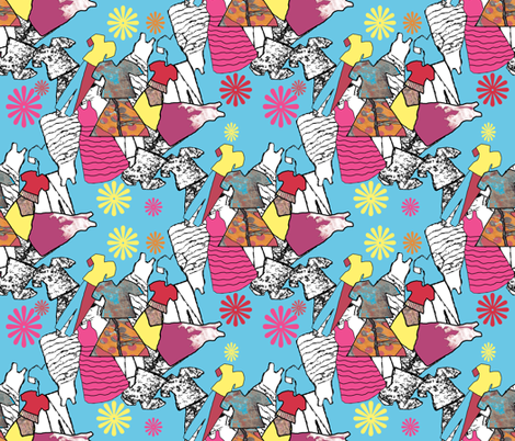 Just as long as you wear clothes! fabric by anniedeb on Spoonflower - custom fabric