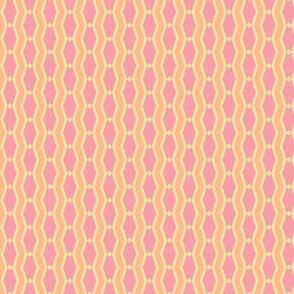 mod wallpaper 202-(blush, sunshine, tangerine
