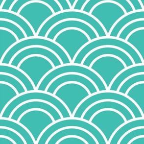 Seafoam Green Scales