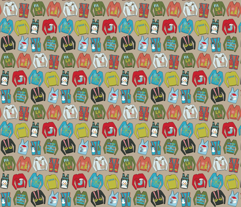 Fashion Disasters: Christmas Sweaters fabric by meg56003 on Spoonflower - custom fabric