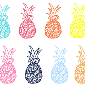 Pineapple Party in Summer Brights