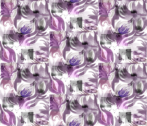 PURPLE_PASSION fabric by sandie_tee on Spoonflower - custom fabric