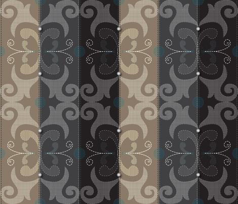 Hand Made Fashion fabric by liluna on Spoonflower - custom fabric