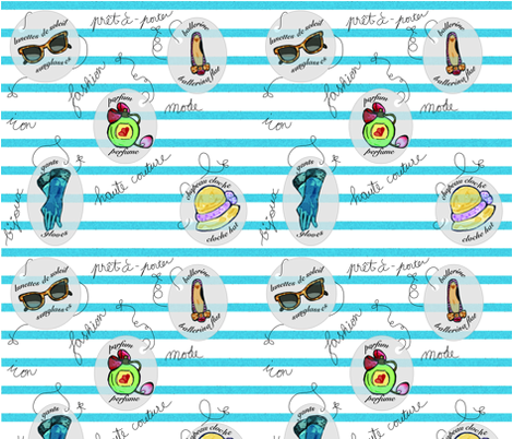 Mode_essentials fabric by yazooky on Spoonflower - custom fabric