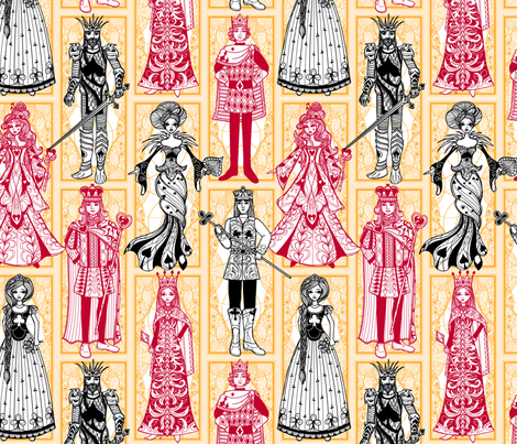 royal suits fabric by jillianmorris on Spoonflower - custom fabric