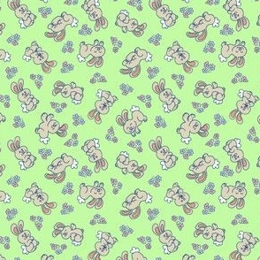 HAPPY LITTLE BUNNIES - APPLE