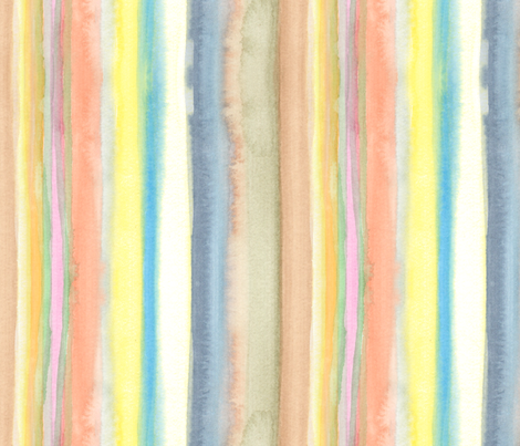 Painted Stripes large fabric by wiccked on Spoonflower - custom fabric