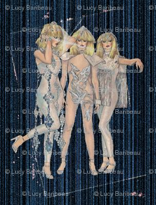 1980 disco glamour
