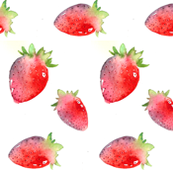 Tumbling Strawberries