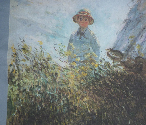 Woman with a Parasol