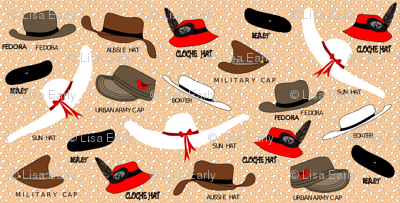 Hats on dots