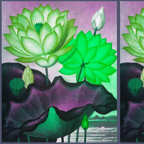 Water flowers 1B
