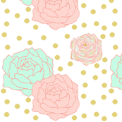 Polka dot peonies big
