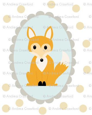 scalloped oval fox