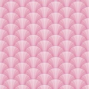 Pink shells oriental pattern