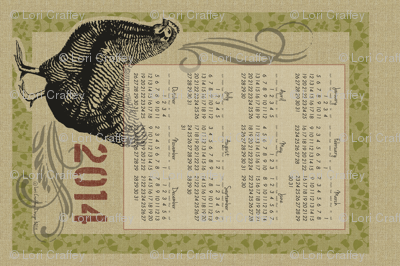 The Country Hen 2014 Calendar