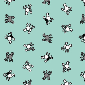 scattered_poodles_on_turquoise