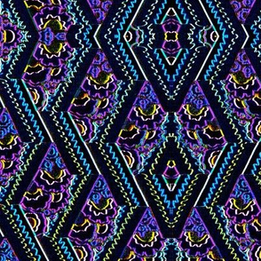 My very first IKAT design.