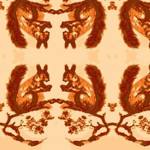 Red Squirrel Border