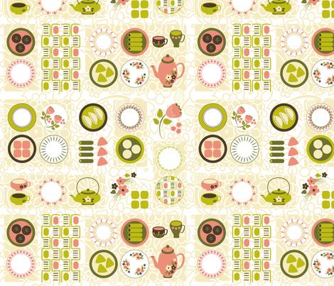 Dim_Sum Tables fabric by bojudesigns on Spoonflower - custom fabric