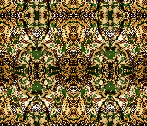 Wild Thang Jungle Pattern