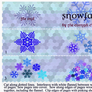Snowfall: A cloth book for Baby
