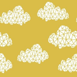 Geometric Clouds - Mustard