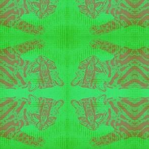 Ocelot in Green