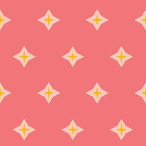 Diamond star rose
