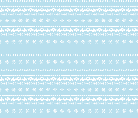 Blue mood fabric by calidurge on Spoonflower - custom fabric