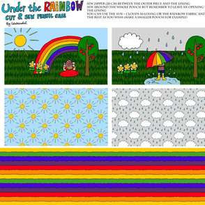 Under the Rainbow pencil case
