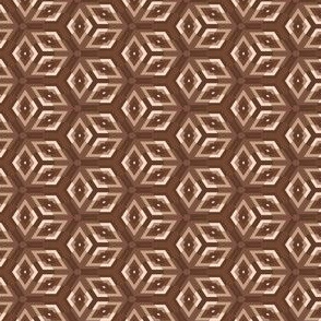 Brown Op Art Squares © Gingezel™ 2014